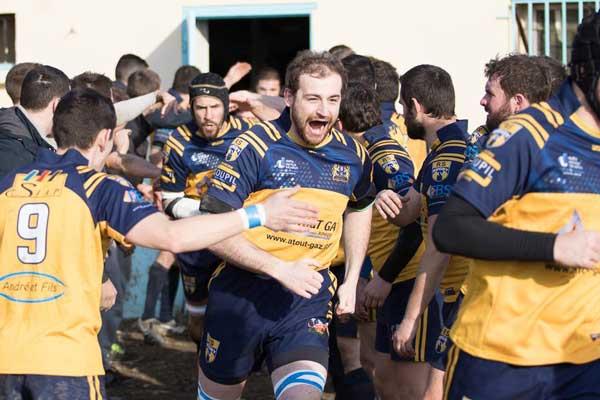 Nos Valeurs : Sortie de vestiaire avant match RS Rugby