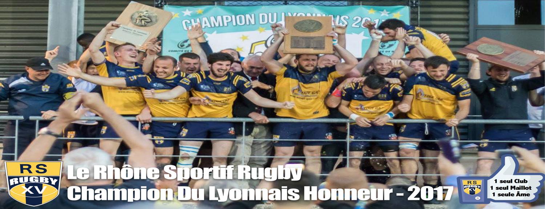 Club-Rugby-Lyon-Villeurbanne-Champion-2017-Honneur