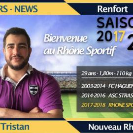 Les Renforts Rhônistes 2017-2018