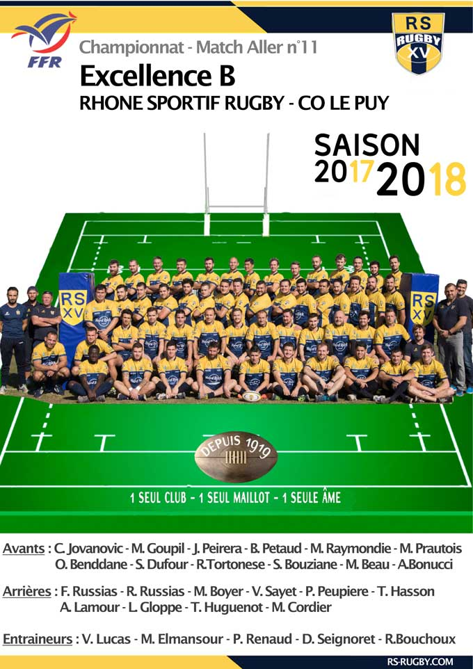 Club-Rugby-Lyon-Villeurbanne-CompoB-journee11 RS Rugby – CO Le Puy