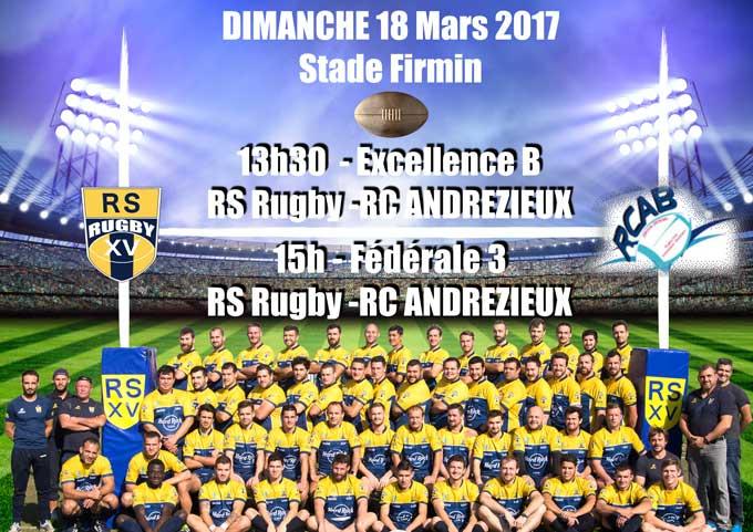 Rugby Lyon RHONE SPORTIF Match Retour18