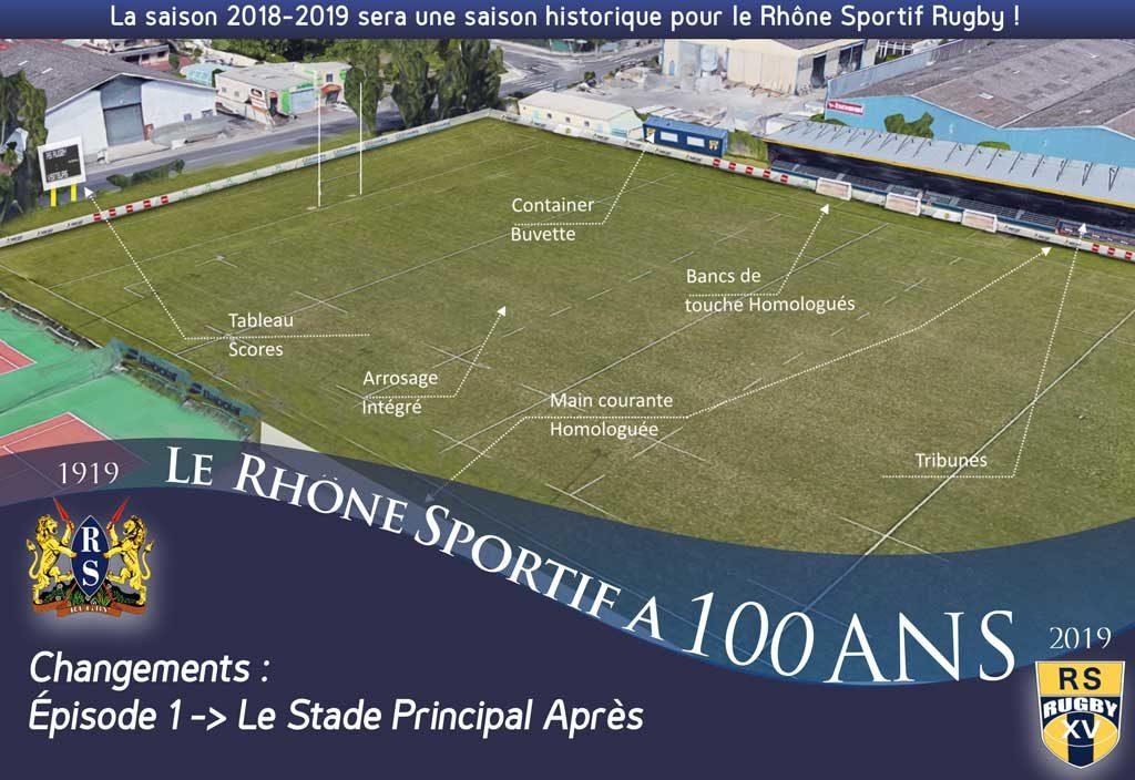 Club De Rugby Lyon RS 100 ans Apres