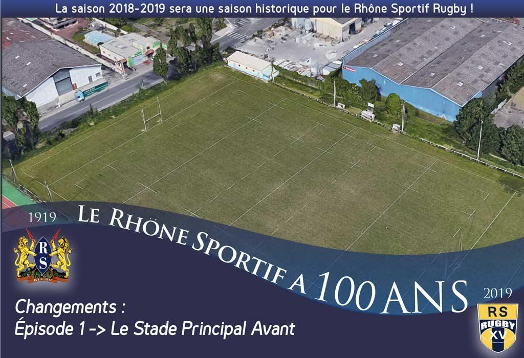 Club De Rugby Lyon RS 100 ans Avant