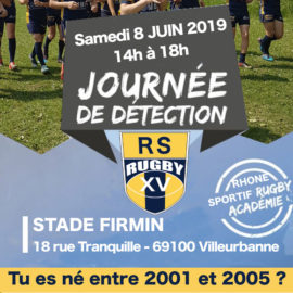 Rugby Espoir U16 U19 Lyon Villeurbanne