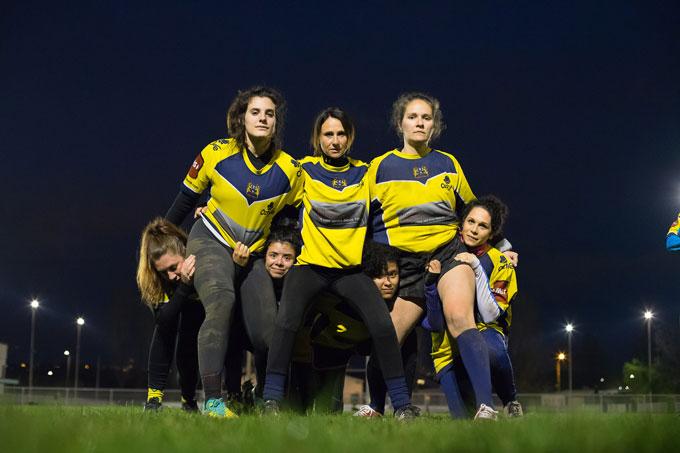 Club de rugby Féminin à Lyon et son agglomération