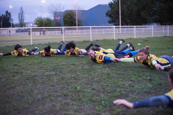 Club de rugby filles Lyon