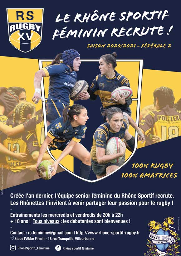 Club_de_rugby-Féminines-Lyon-Villeurbanne Rugby Féminin Lyon