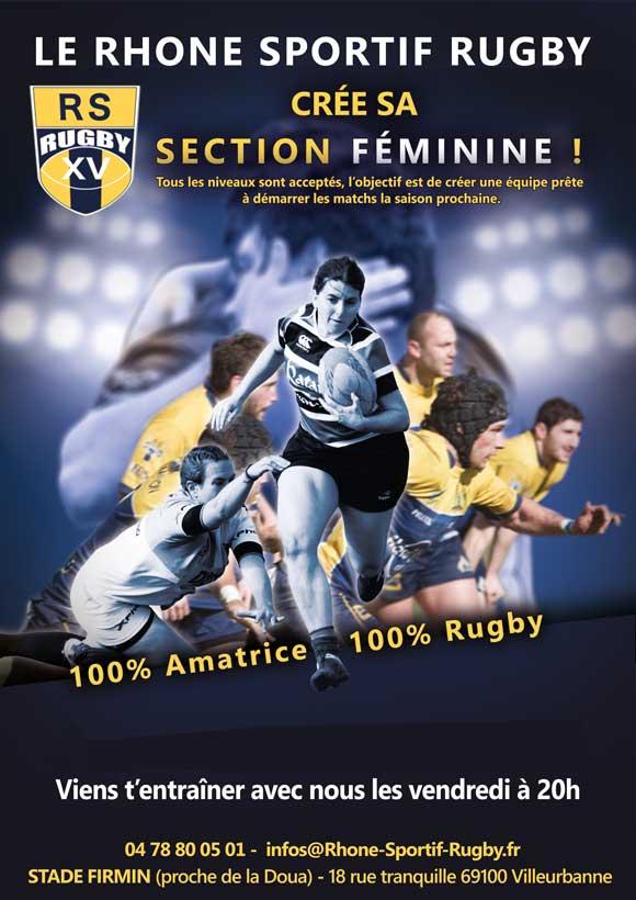 Lyon Villeurbanne Club de rugby féminin