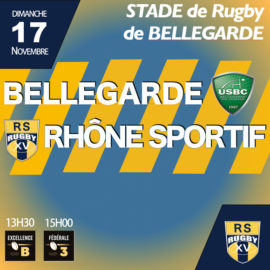 BELLEGARDE – RS RUGBY