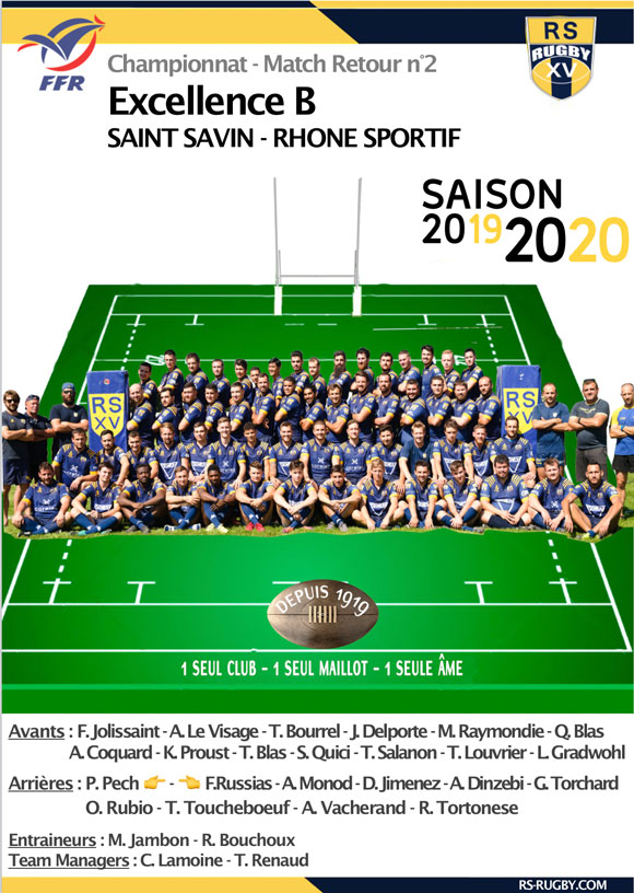 Lyon Club de rugby excellence B