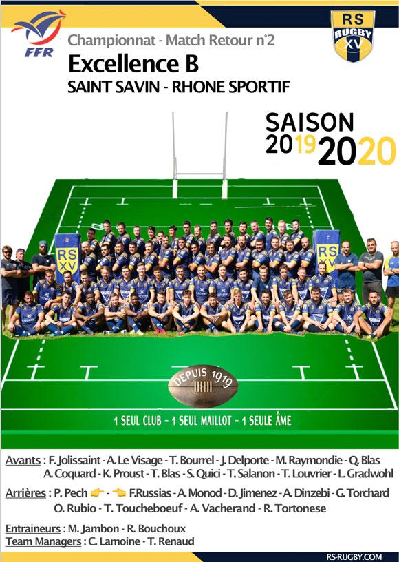 Lyon Club de rugby excellence B