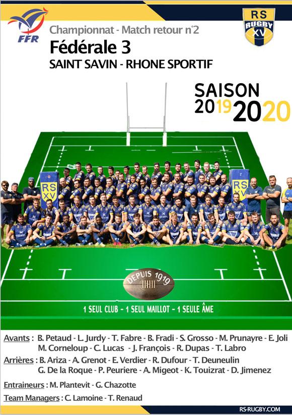 Lyon Club de rugby fédérale 3