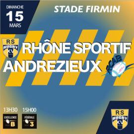 Club Rugby Lyon Villeurbanne RS ANDREZIEUX