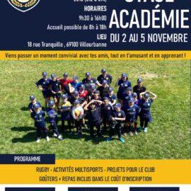 club rugby jeunes enfants lyon villeurbanne