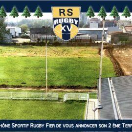 Club de Rugby Bron Lyon Villeurbanne Nouveau Terrain